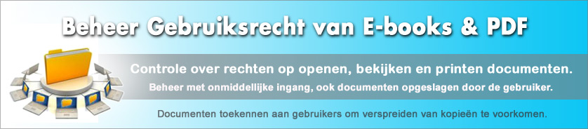 Digital Rights Management (DRM) voor Documenten en E-books